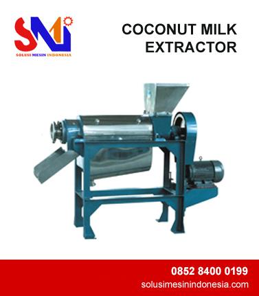 COCONUT MILK EXTRACTOR
