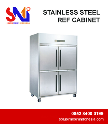STAINLESS STEEL REF CABINET